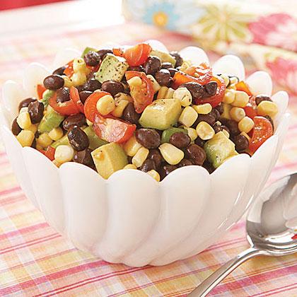 Black Bean, Corn and Cherry Tomato Salad