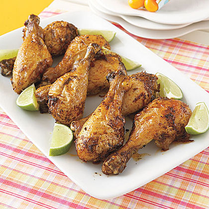 Chili-Lime Drumsticks Recipe