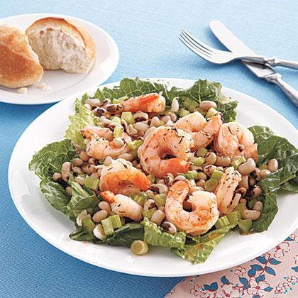 Shrimp and Black-Eyed Pea Salad