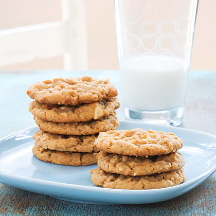 These yummy flourless cookies and a glass of cold milk are the perfect afternoon snack.Hands-On Time: 10 min., Total Time: 40 min.