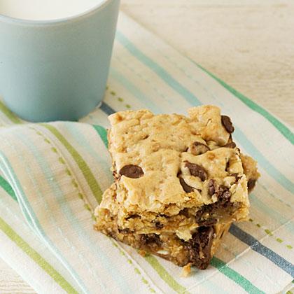 Chocolate-Toffee-Granola Cookies