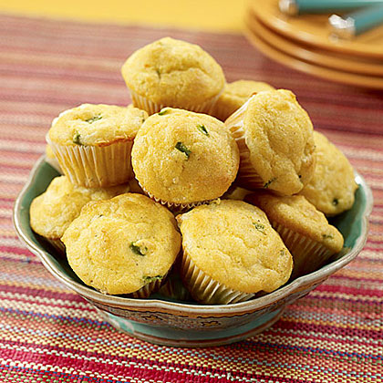 Mini Spicy Cheese Muffins
