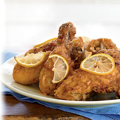 Lemon-Ginger Fried Chicken