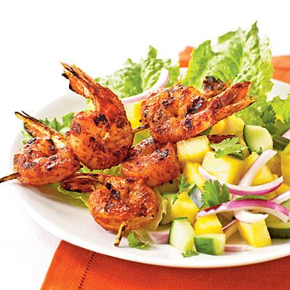 Jerk-Spiced Shrimp