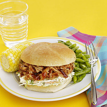 <p>Pulled-Pork Sandwiches</p>