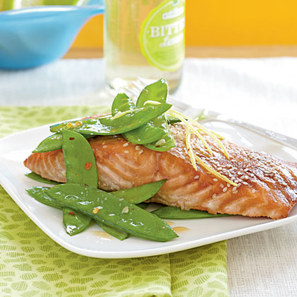 <p>Salmon with Hoisin Glaze</p>