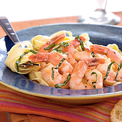 Sesame Shrimp Scampi