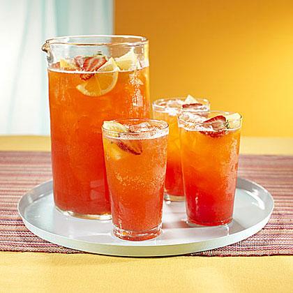 Strawberry-Lemon Fizz Recipe
