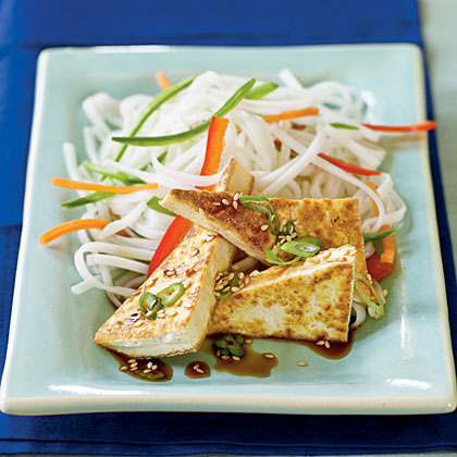 Soy-Glazed Tofu Recipe | MyRecipes
