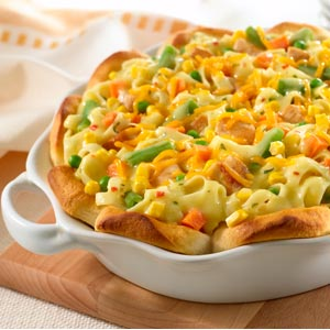 Knorr Rice & Pasta Sides Upside-Down Chicken Pot Pie Recipe