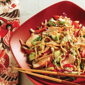 Asian noodle salads