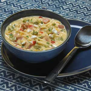 Knorr Rice & Pasta Rice Cheddar & Corn Chowder Recipe