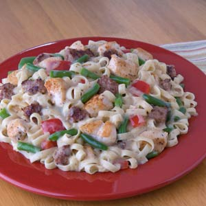Knorr Rice & Pasta Sides cajun Chicken & Sausage with Pasta Recipe