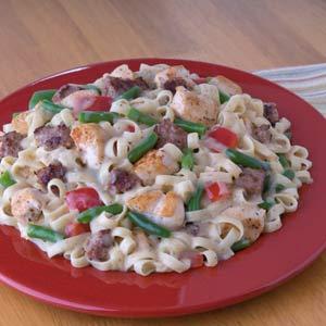 Knorr Rice & Pasta Sides cajun Chicken & Sausage with Pasta Recipe