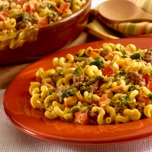 Knorr Rice & Pasta Sides Cheese Burger Vegetable Pasta Recipe