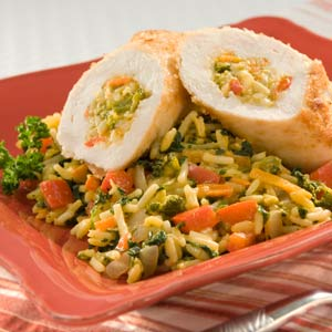 Knorr Rice & Pasta Sides Chicken Rollitini Skillet Recipe