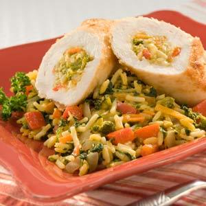 Knorr Rice & Pasta Sides Chicken Rollitini Skillet Recipe