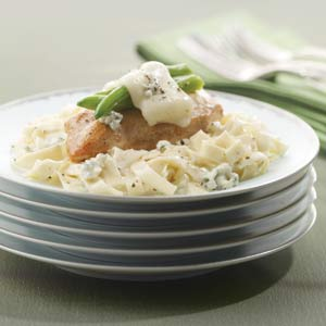 Knorr Rice & Pasta Sides Chicken, Greenbean & Blue cheese Pasta Recipe