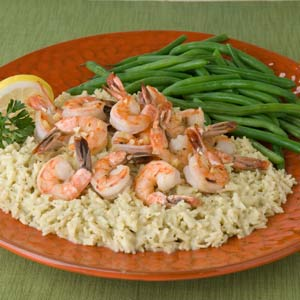 Shrimp Scampi Over Rice Recipe Myrecipes