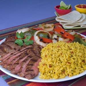 Knorr Rice & Pasta Steak fajitas Recipe