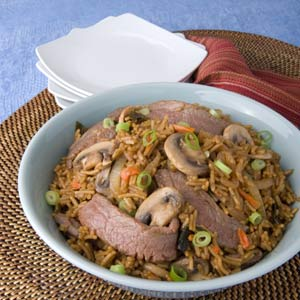 Knorr Rice & Pasta Steak Mushroom Terikayi Recipe