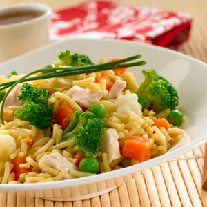 Knorr Rice & Pasta Rice Weekday Skillet Chicken Recipe