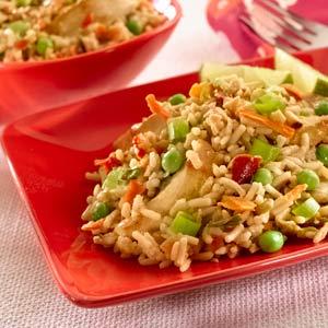 Knorr Rice & Pasta Rice Chicken Satay Fried Rice Recipe