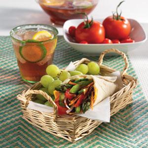 Wish Bone Farmers Veggie Wraps Recipes