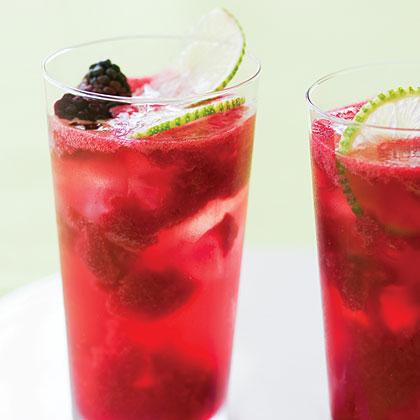 Blackberry Lime Rickeys Recipe