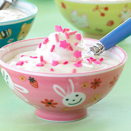 Simple Vanilla Pudding