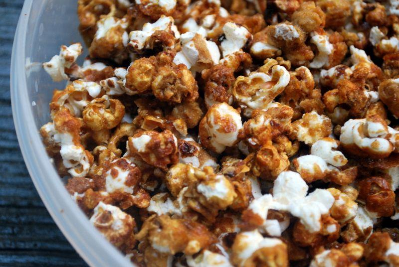 Movie Snacks: Caramel Popcorn