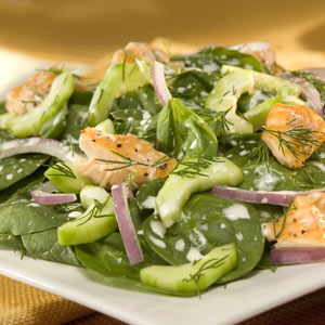 Wish Bone Dill Spinach Salad Recipes