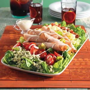Wish Bone Turkey Club Salad Recipes Recipe