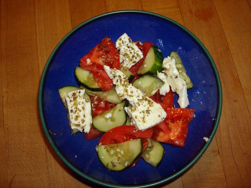Easy, Authentic Greek Salad