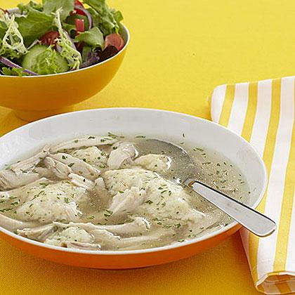 Chicken with Herbed DumplingsRecipe