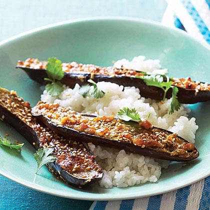 Miso-Glazed Eggplant (Nasu Miso) Recipe