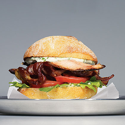 Sardine BLTs with Herbs and Lemon