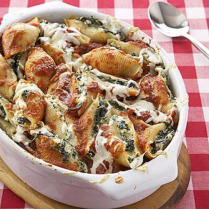 Spinach-and-Ricotta Stuffed Shells Recipe MyRecipes