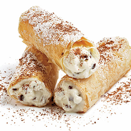 Chocolate Chip Cannoli