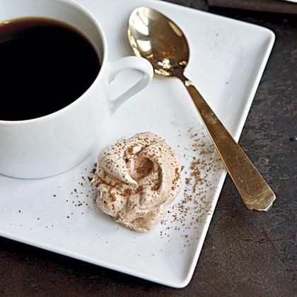 Cocoa Nib Meringues Recipe