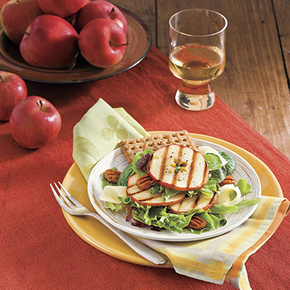 Grilled Apple SaladRecipe