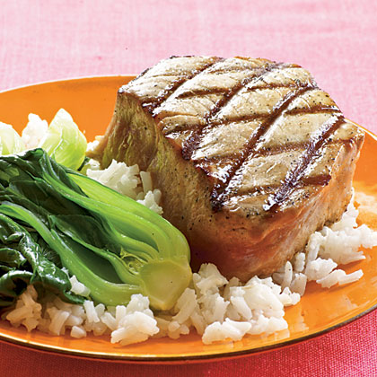 <p>Double-Sesame Grilled Tuna</p>