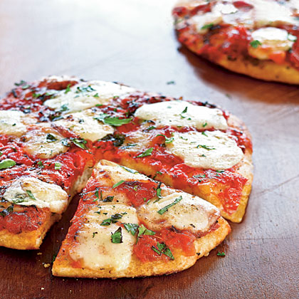 Herbed Cheese Pizza Recipe | MyRecipes.com