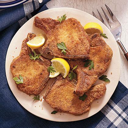 Cajun Seasoned Pan Fried Pork Chops Recipe Myrecipes
