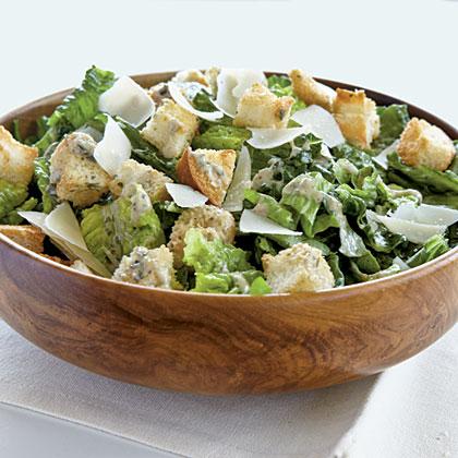 Pesto Caesar Salad Recipe