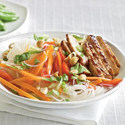 <p>Pork Noodle Salad</p>