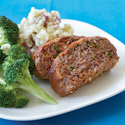 Quick Meat Loaf Recipe Myrecipes Com