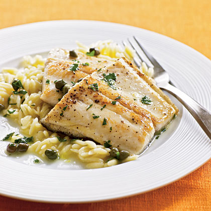 Pan-Sautéed Trout with Capers Recipe