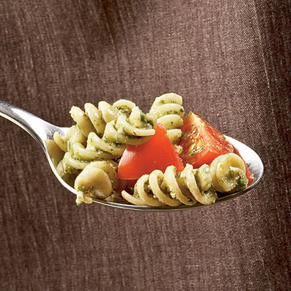 Tomato and Walnut Pesto RotiniRecipe