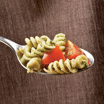 Tomato and Walnut Pesto Rotini